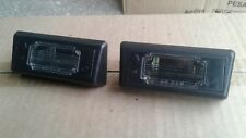 Renault Fuego license plate light Set X2 (Left & Right)