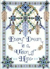 """Design Works Counted Cross Stitch kit 8"""" x 11"""" ~ VISION OF HOPE #2354 Sale"""