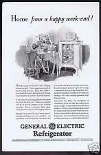 1928 General Electric Refrigerator Advertising
