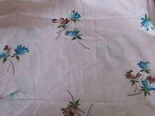 Shabby cottage chic lavender with blue and purple flowers fabric material sweet