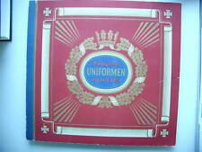 Sammelbilderalbum Uniformen der alten Armee Waldorf-Ast