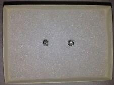 Women's .50CT half carat Round Diamond Stud Earrings $1,500.00 NWT