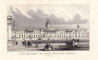 1840 Victoriano Estampado ~ Nacional Galería Trafalgar Square ~ Londres Caballo
