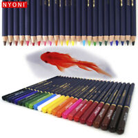 10X WATER COLOUR PENCIL SET ARTIST SKETCHING DRAWING ART CRAFT PAINTING
