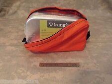 Emergency/Survival: Trangia #212 Aluminum Mess Kit Tin & Nylon Pouch, ORANGE