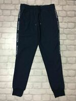 TOMMY HILFIGER MENS VARIOUS  NAVY SIDE TAPE FLEECE TRACK PANTS JOGGERS RRP £85