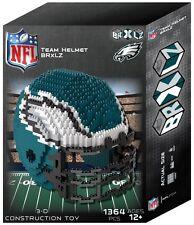 Philadelphia Eagles BRXLZ Team Helmet 3D Puzzle Construction Toy New 1364 Pieces