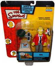 Simpsons Salesman Gil Action Figure WOS MIB Series 11 RARE Toy Playmates