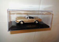 1:43 Modellauto 1963 MERCEDES BENZ 230 SL Cabrio offen 2-türig gold 1:43 in BOX