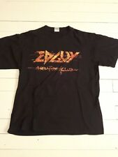 EDGUY - Hellfire Club 2004 Official Tour Shirt Metal LP Iron Maiden AC/DC Ed Guy