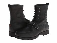 Polo Ralph Lauren Mens Ranger Strap Lace-Up Hiking Trail Ankle Boots Shoes