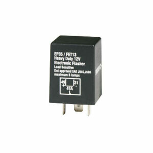 Tridon Electronic Flasher FET13 fits BMW 6 Series 635 CSi (E24) 136kw
