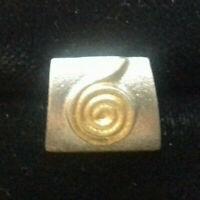 ANHÄNGER Sterling SILBER 925/f. ca. 1,6 gramm Keltischer KREIS MODERNES DESIGN