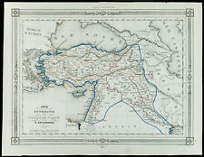 1846 - Carta antica Turchia, da Levasseur