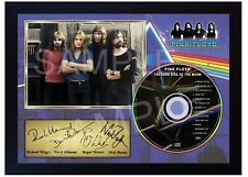 Pink Floyd The Dark Side Of The Moon SIGNED Autographed FRAMED PHOTO CD Disc