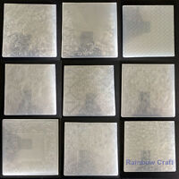 55 different Embossing Folders | Square 140mm * 140mm or 106mm*150mm
