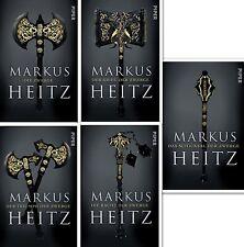 Zwerge Serie Die komplette Saga von Markus Heitz Band 1 2 3 4 5 Taschenbuch
