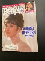PEOPLE Magazine February 1 1993 AUDREY HEPBURN Farewell-Barbra Streisand-CLINTON