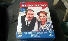 'Allo 'Allo - Series 1-9 - Complete (DVD, 2013, 16-Disc Set, Box Set) brand new