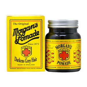 Morgan's Pomade The Original Darkens Grey Hair 100g/3.53ozw/Free Nail File