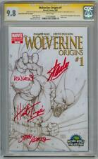 WOLVERINE ORIGINS #1 CGC 9.8 SIGNATURE SERIES SIGNED STAN LEE ROMITA WEIN TRIMPE