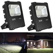 2pcs LED Bulbs Flood Light Outdoor Landscape Security Spotlight Commercial Lamp