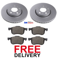 FOR VOLVO XC70 V70 (2000-2007) FRONT 2 BRAKE DISCS AND PADS SET *BRAND NEW*