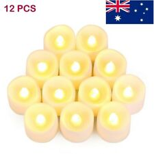 12 Pack Flameless Candles LED Battery Candles Candle Tea Lights Electric Candles