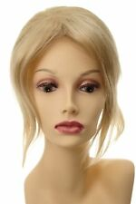 Toupet Haarteil Haarersatz Aufsatz Verlängerung groß lang Blond-Mix L056-24BT613