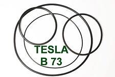 SET RIEMEN TESLA B 73 TONBANDMASCHINE EXTRA STRONG FABRICKFRISCH NEU B73 B-73