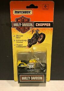 1993 MATCHBOX HARLEY-DAVIDSON MOTORCYCLES CHOPPER *IN ORIGINAL PACKAGE*