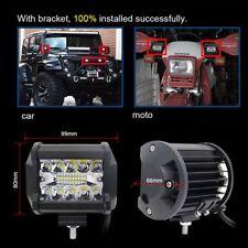60W CREE LED Work Flood Spot Light Lamp Bar 12V 24V Off Road for Truck Boat SUV