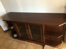 TV Entertainment Unit / Cabinet with glass doors