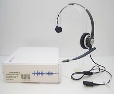 Plantronics EncorePro Hw710 Mono Headband Qd Headset with Retractable microphone