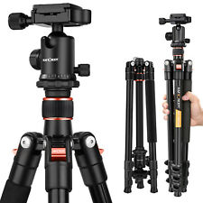 K&F Concept Digital Camera Travel Tripod Aluminum Alloy for Canon Nikon DSRL 62""