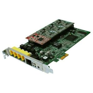 ALLO Analogue Active Pcie Card With 1 FXS & 3 Fxo ; 3CX Asterisk Elastix Fax