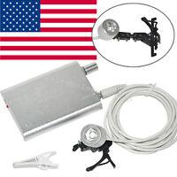US Denshine Portable Headlight Dental Lamp 15000—30000Lux for Dental Loupes+Clip