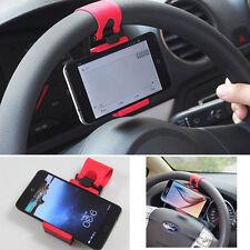 Supporto auto compatto universale Volante Sterzo per Samsung Galaxy S6 / S6 EDGE