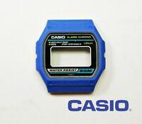 VINTAGE CASE CENTER /CAJA CASIO W-14 BLUE NOS