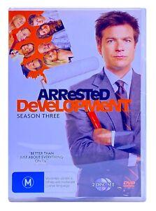 Arrested Development : Season 3 (DVD, 2006, 2-Disc Set) PAL Region 4