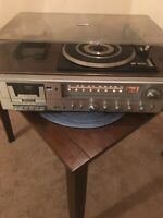 Zenith Record Player Radio Cassette Integrated Stereo System Model IS 4130 AS IS