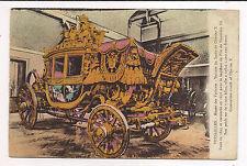 versailles ,  musée des voitures ,voiture du sacre de charles X