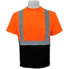 Hi Visibility Orange Self Wicking Shirt, Class 2 Shirt, Size:XL, GLO-005B-XL