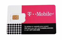 One T-Mobile 4G LTE 3 in 1 Triple Cut Sim Card