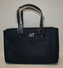 Coach Midnight Blue Leather Handbag NWOT