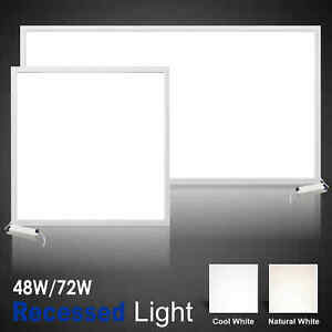 LED Panel Lights Recessed Ceiling Light 600 x 600 Flat 1200 x 600 Suspended Down