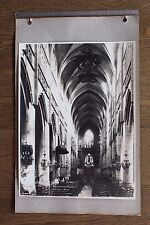 (BC) Grande Photo Environ 28,5 x 38,5 cm + marge LISIEUX Eglise saint Jacques