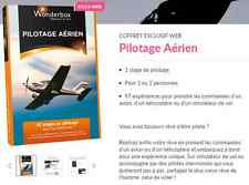 Coffret  E-Billet Wonderbox ''Pilotage Aérien'' 255€ au lieu 280€
