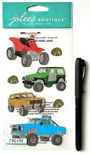 (1) package of scrapbooking stickers - New - Off Roading - Atv - Jeep - Truck
