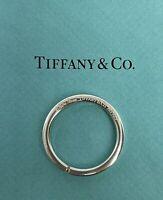 Vintage Tiffany & Co. Paloma Picasso Silver 925 31mm Circle Keyring Keychain